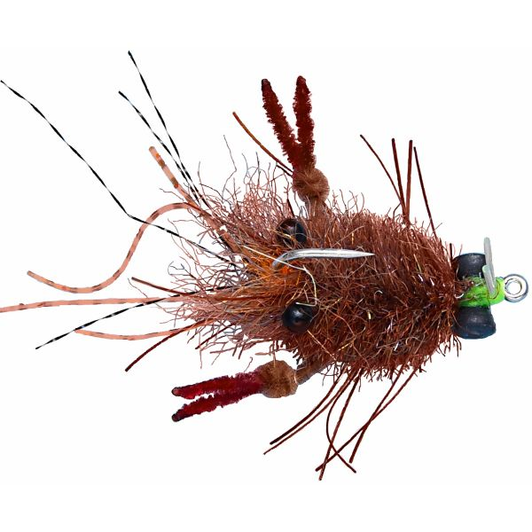 Enrico Puglisi Tarantula Crab Saltwater Fly