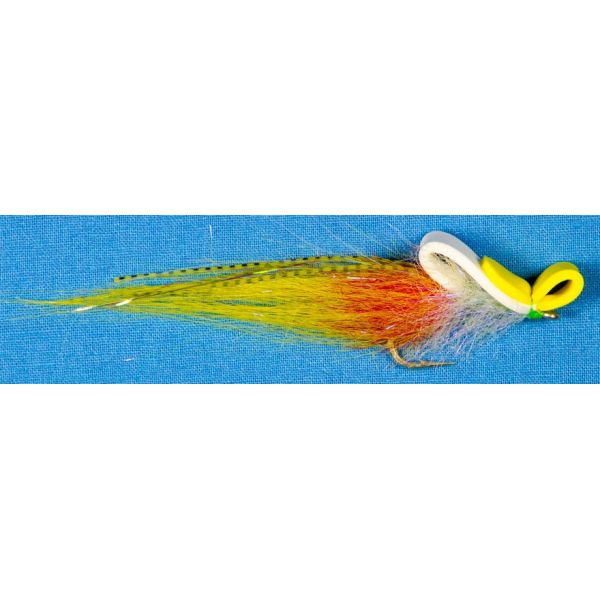 Enrico Puglisi Top Water Fly - White/Yellow