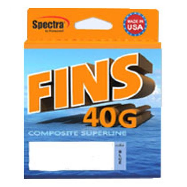 FINS 40G Composite Superline Braided Fishing Lines - 300yds