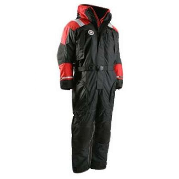 First Watch AS-1100-HV Anti-Exposure Flotation Suit Hi-Vis Yellow