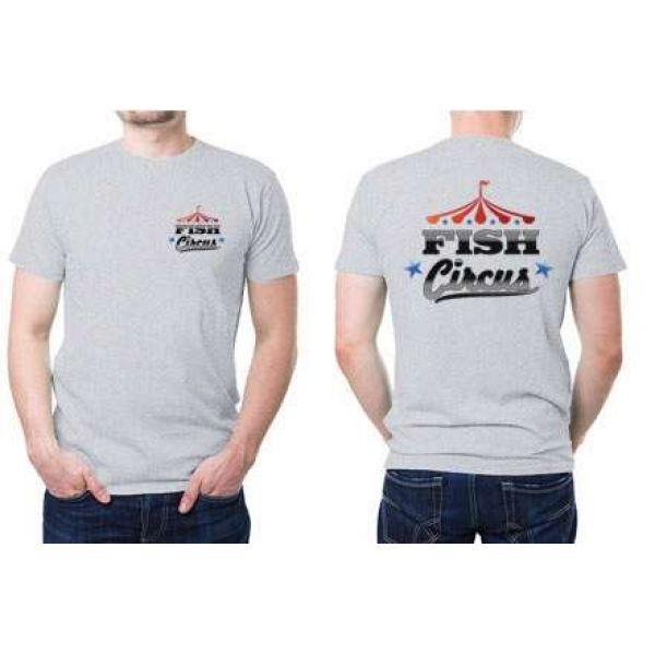 Fish Circus Fishing Team FC800 SS T-Shirt - Grey