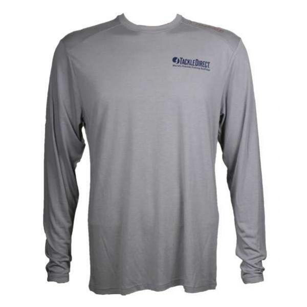 TackleDirect Free Fly FF103 TackleDirect Logo Bamboo Tech Long Sleeve Shirt