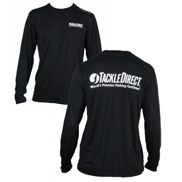 TackleDirect Free Fly TackleDirect Logo Bamboo Tech LS Shirts