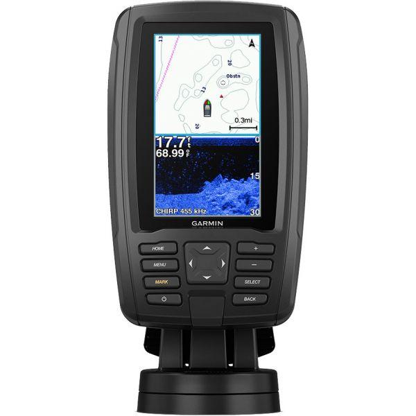 Garmin ECHOMAP Plus 44cv Chartplotter/Sonar Combo w/ BlueChart G3 & GT20-TM Transducer
