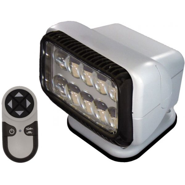 Golight Permanent RadioRay LED w/ Wireless Hand-Held Remote - White
