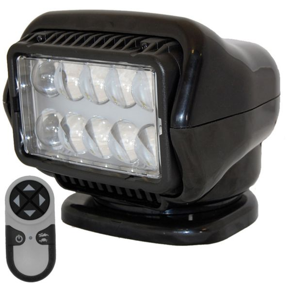 Golight LED Stryker Searchlight w/ Wireless Remote - Mounted - Black