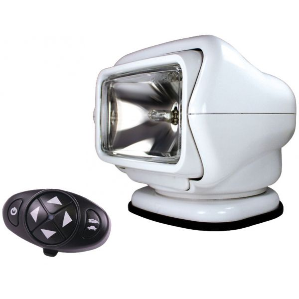 Golight Stryker Searchlight 12V w/ Wireless Dash Remote - White