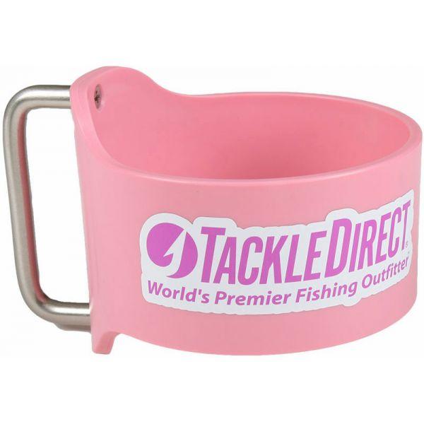 Grapplr Cup Handle for Yeti 30oz Rambler w/ TackleDirect Logo Pink