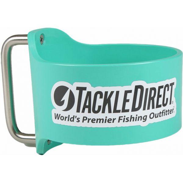 Grapplr Cup Handle f/ Yeti 30oz Rambler w/ TackleDirect Logo Seafoam