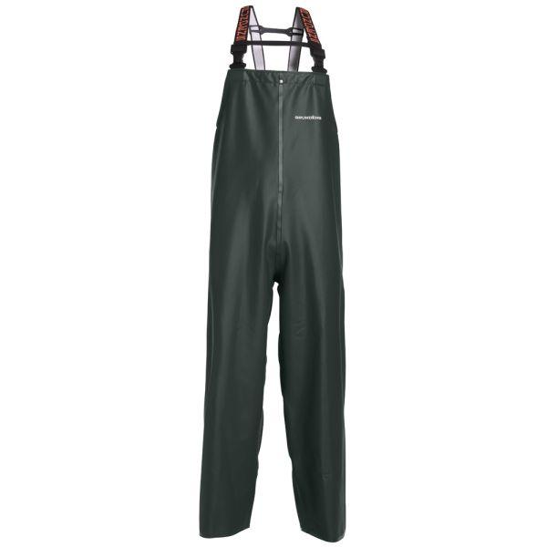 Grundens C116G Clipper 116 Bib Pant Green - Size X-Small