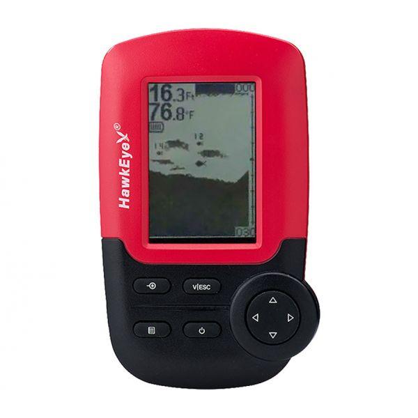 HawkEye FishTrax 1X Portable Fish Finder w/ Dot Matrix Display