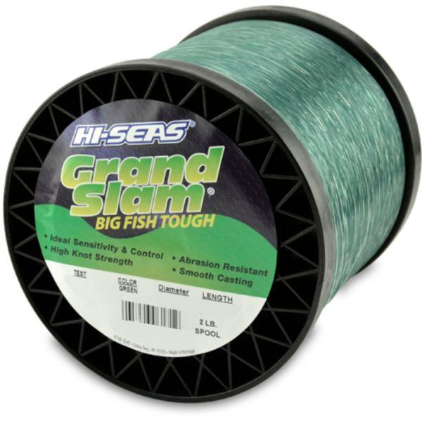 Hi-Seas Grand Slam Mono 2 lb. Spool Green