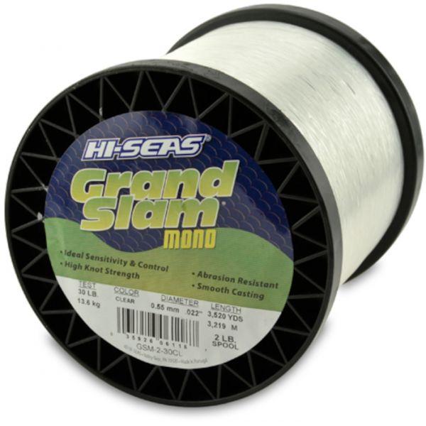 Hi-Seas Grand Slam Mono 2 lb. Spool Clear GSM-2-30CL