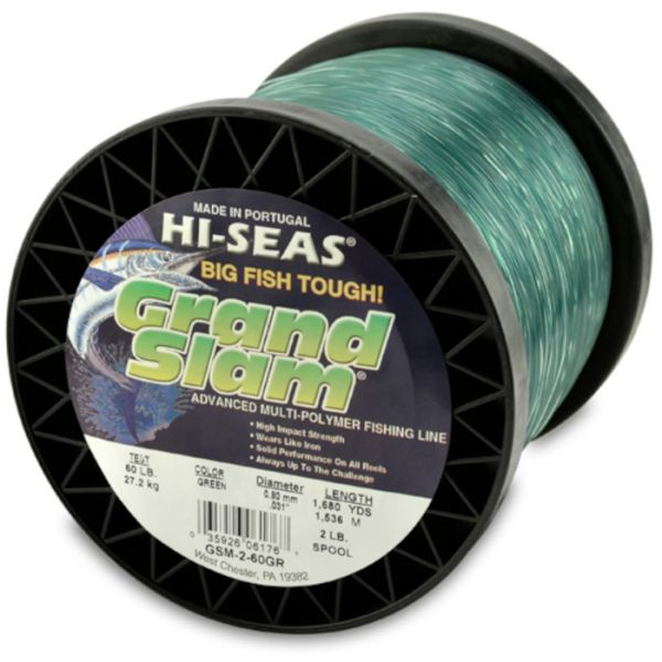 Hi-Seas Grand Slam Mono 2 lb. Spool Green GSM-2-60GR