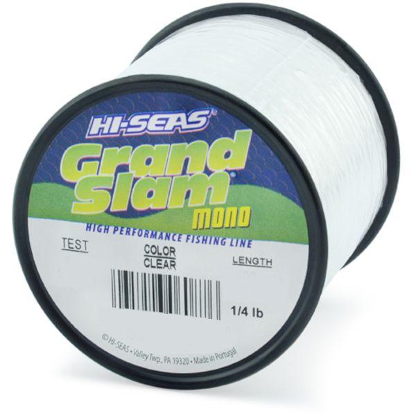 Hi-Seas Grand Slam Mono 1/4 lb. Spool Clear
