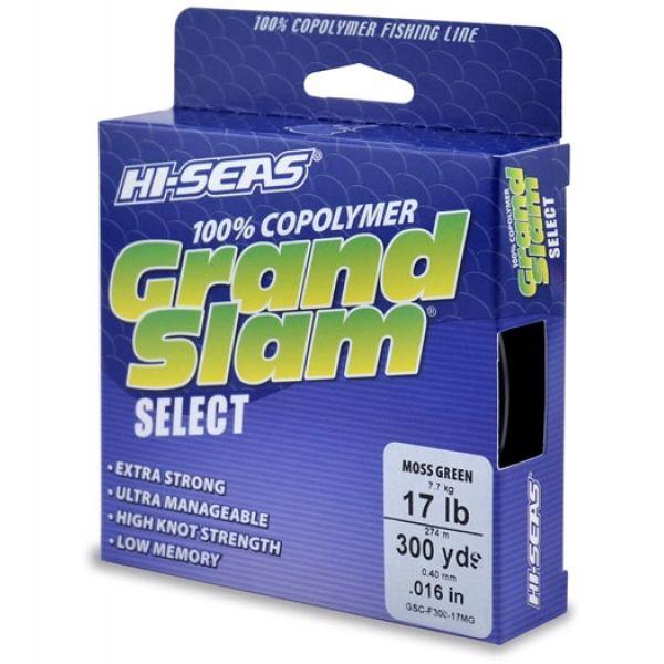 Hi-Seas GSC-F300-17MG Grand Slam Select Moss Green 17lb 300yds