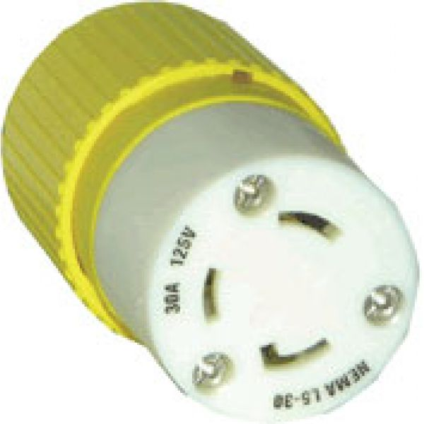 Hubbell 305CRC Locking Connector Body 30A 125V