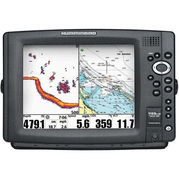 Humminbird 1159ci HD XD Combo - Dual Beam TM Transducer