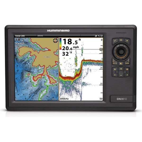 Humminbird ONIX10ci NT Fishfinder Combos - Non-Touch Units