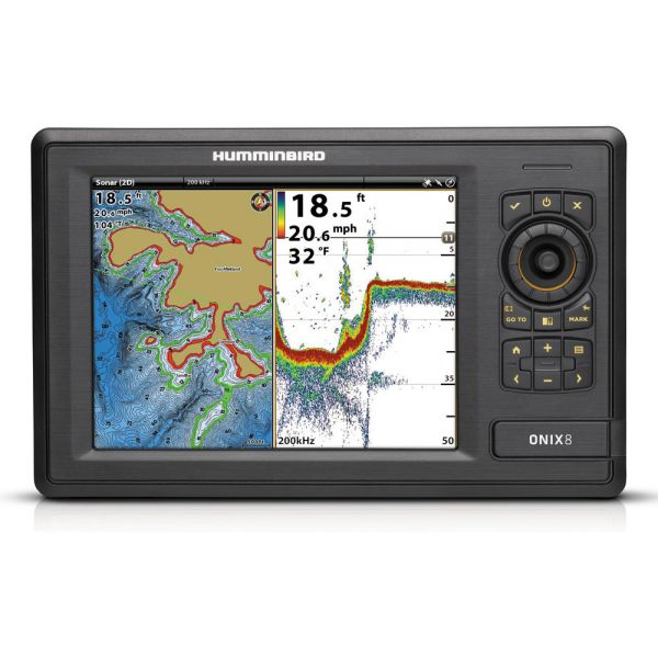 Humminbird ONIX8ci NT Fishfinder Combos - Non-Touch Units