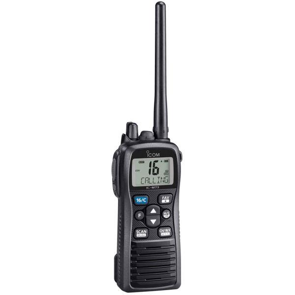 Icom M73 31 M73 PLUS Handheld VHF w/ Active Noise Canceling