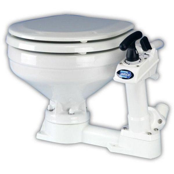 Jabsco 29090-3000 Manual Marine Toilet w/ Twist-N-Lock Handle