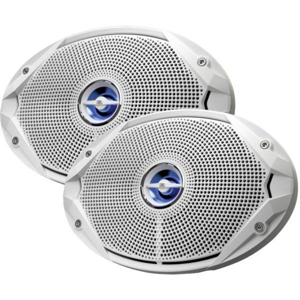 JBL MS9520 Coaxial Speaker Pair - 300W - 6 x 9 - White