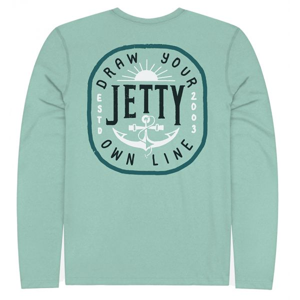 Jetty Admiralty UV Long Sleeve T-Shirt - Mint - Large
