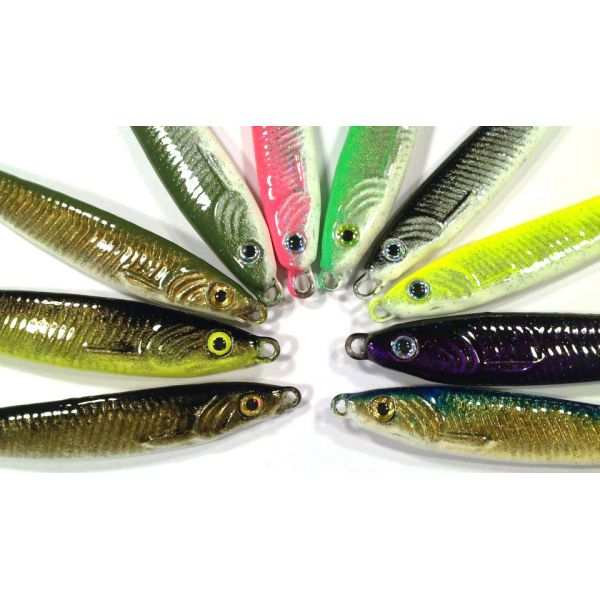 Jetty Ghost 1.6oz Minnow Lures #1 Hook
