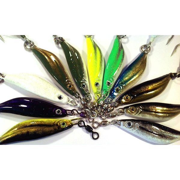 Jetty Ghost 4.8oz Mullnut Lures #5 Hook