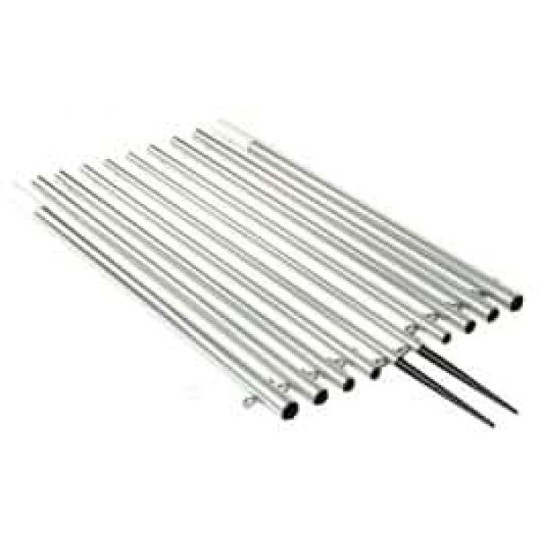 Lee's AP3522 22' Silver Outrigger Poles - 2
