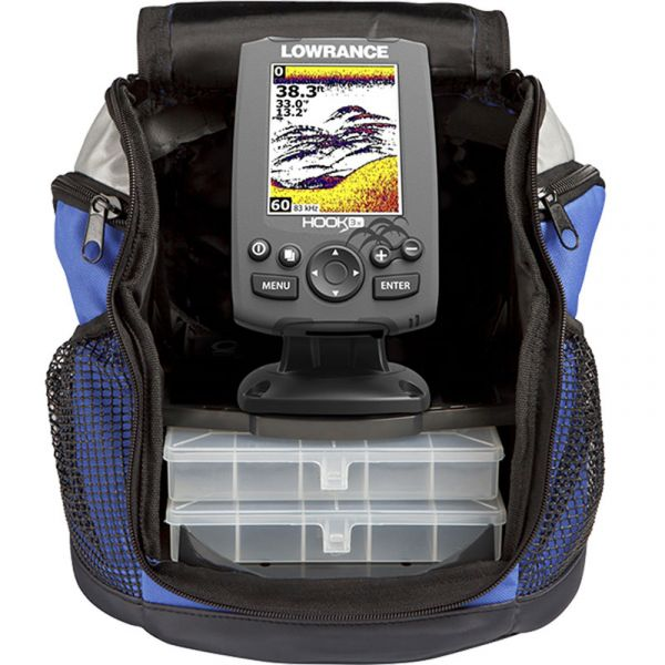 Lowrance 000-12638-001 HOOK-3x All Season Pack w/ Transducer