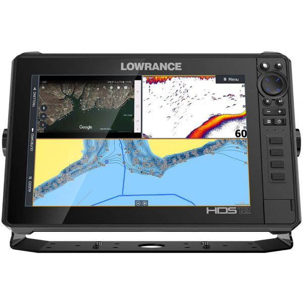 Lowrance 000-14428-001 HDS-12 LIVE Fishfinder w/ Active Imaging 3-in-1