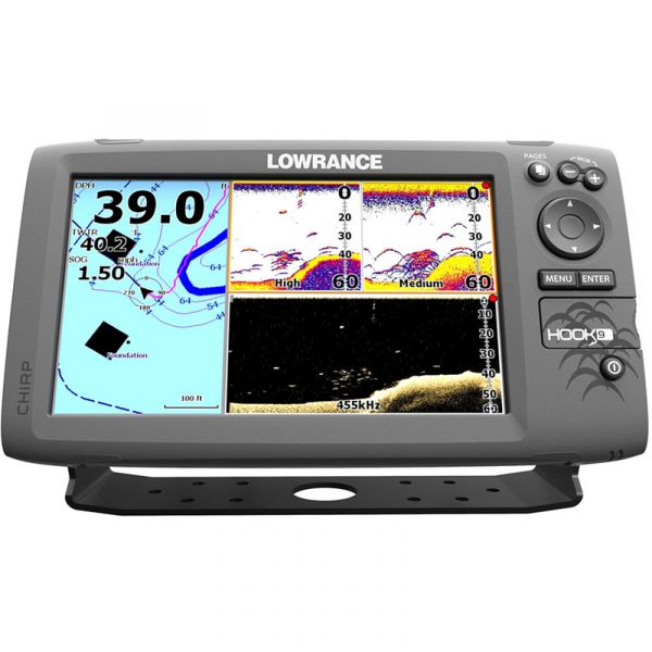 Lowrance HOOK-9 Fishfinder/Chartplotter Combos