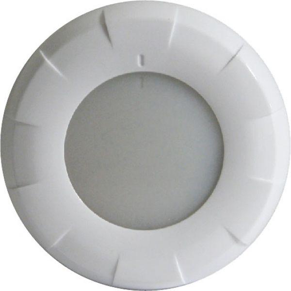 Lumitec 41058 Aurora LED Dome Light - White Finish - White