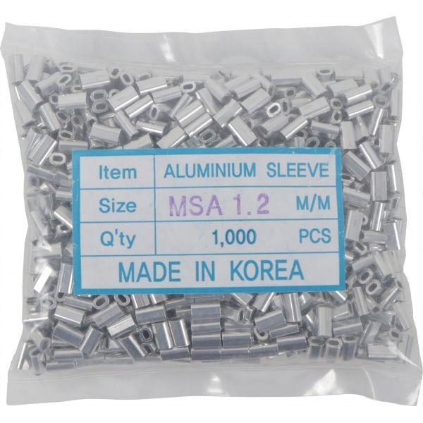 Makai Oval Aluminum Sleeves