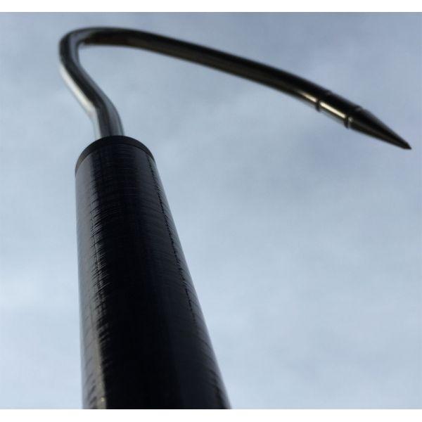 Marsh Tacky Carbon Fiber Pro Gaff - 3ft - 2in Blk Hook