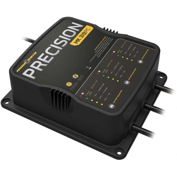 Minn Kota 1833180 MK318PC 3 Bank x 6 Amp Precision Charger