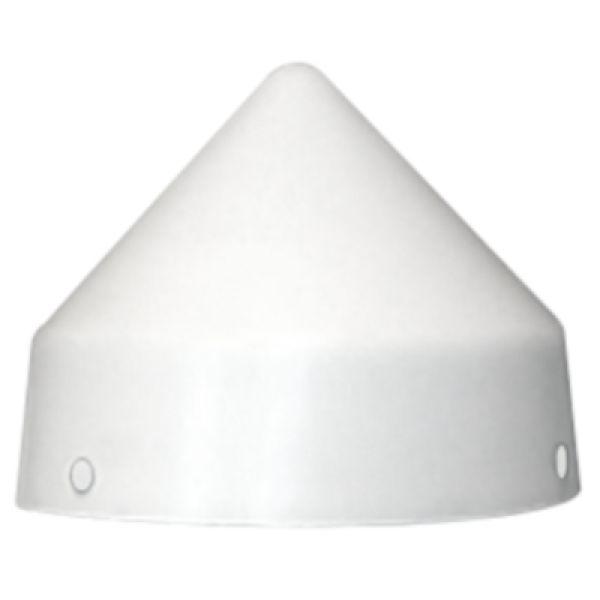Monarch White Piling Caps