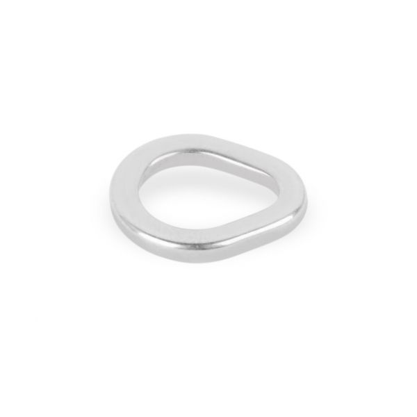Mustad MA106 Stainless Steel Teardrop Ring