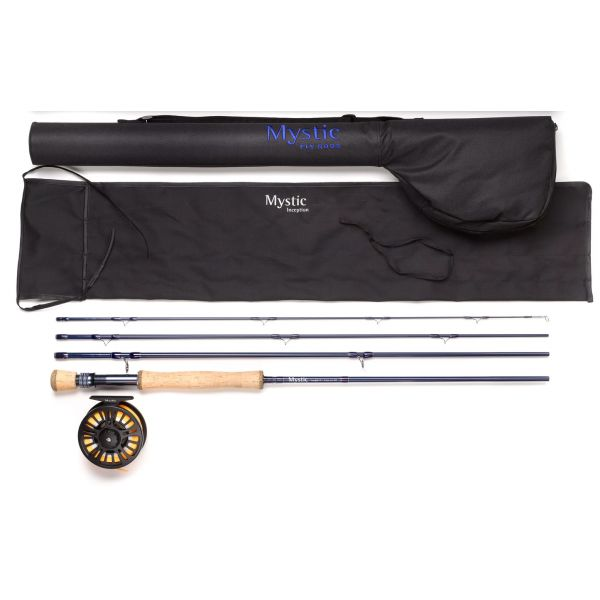 Mystic Outdoors Inception Fly Rod and Reel Combos