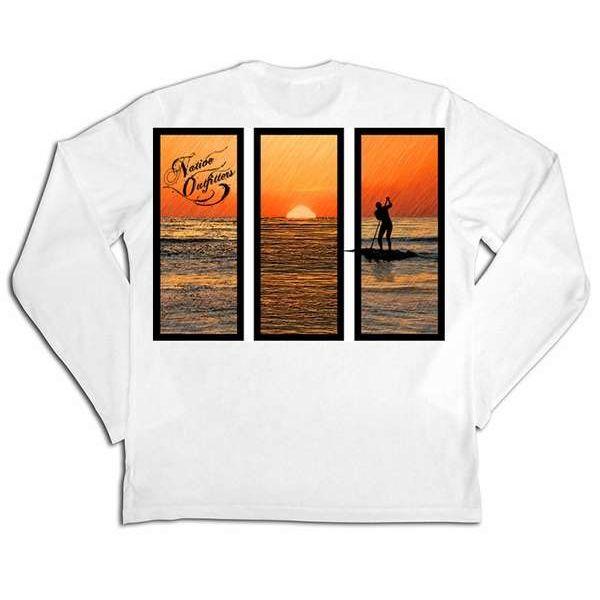 Native Outfitters Z1WHTPAD Z1 Paddleboard UV50 Sun Shirt - Large