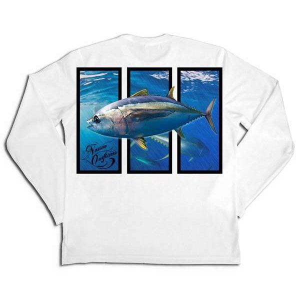 Native Outfitters Z1WHTTUN Z1 Tuna UV50 Sun Shirt - XX-Large