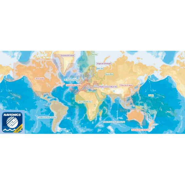 Navionics CF/NAV-U-W 2GB Update Card Worldwide - CF