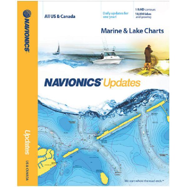 Navionics MSD/NAVUPDATES-NI Updates - US & Canada - microSD