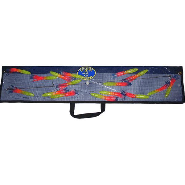 Offshore Custom Tackle Spreader Bars - Squid