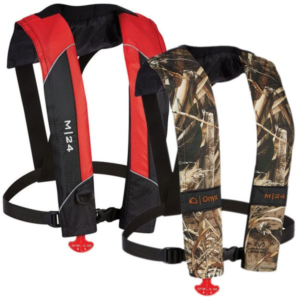 Onyx M-24 Manual Inflatable Life Jacket PFD
