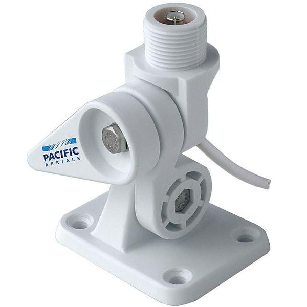Pacific Aerials P6111 SeaMaster Pro Nylon VHF Ratchet Mount