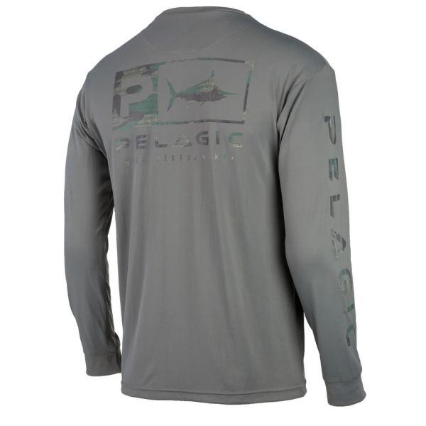 Pelagic Aquatek Icon Long Sleeve Performance Shirts