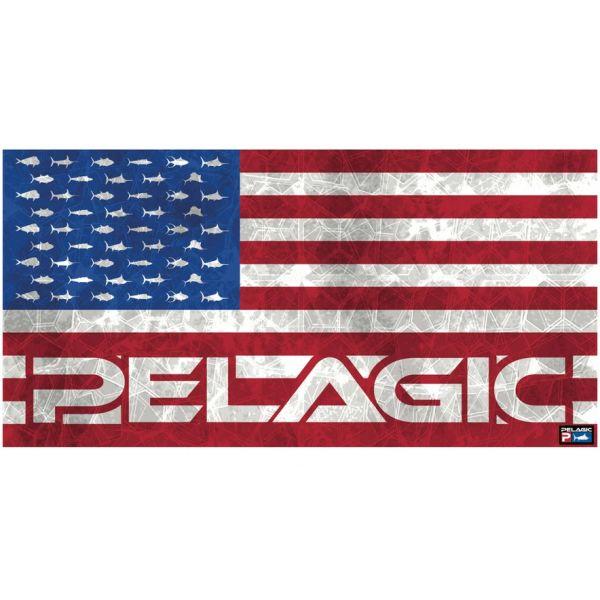 Pelagic Beach Towel - Americamo Hex - Multi